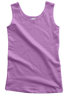 Lavender Cotton Tank